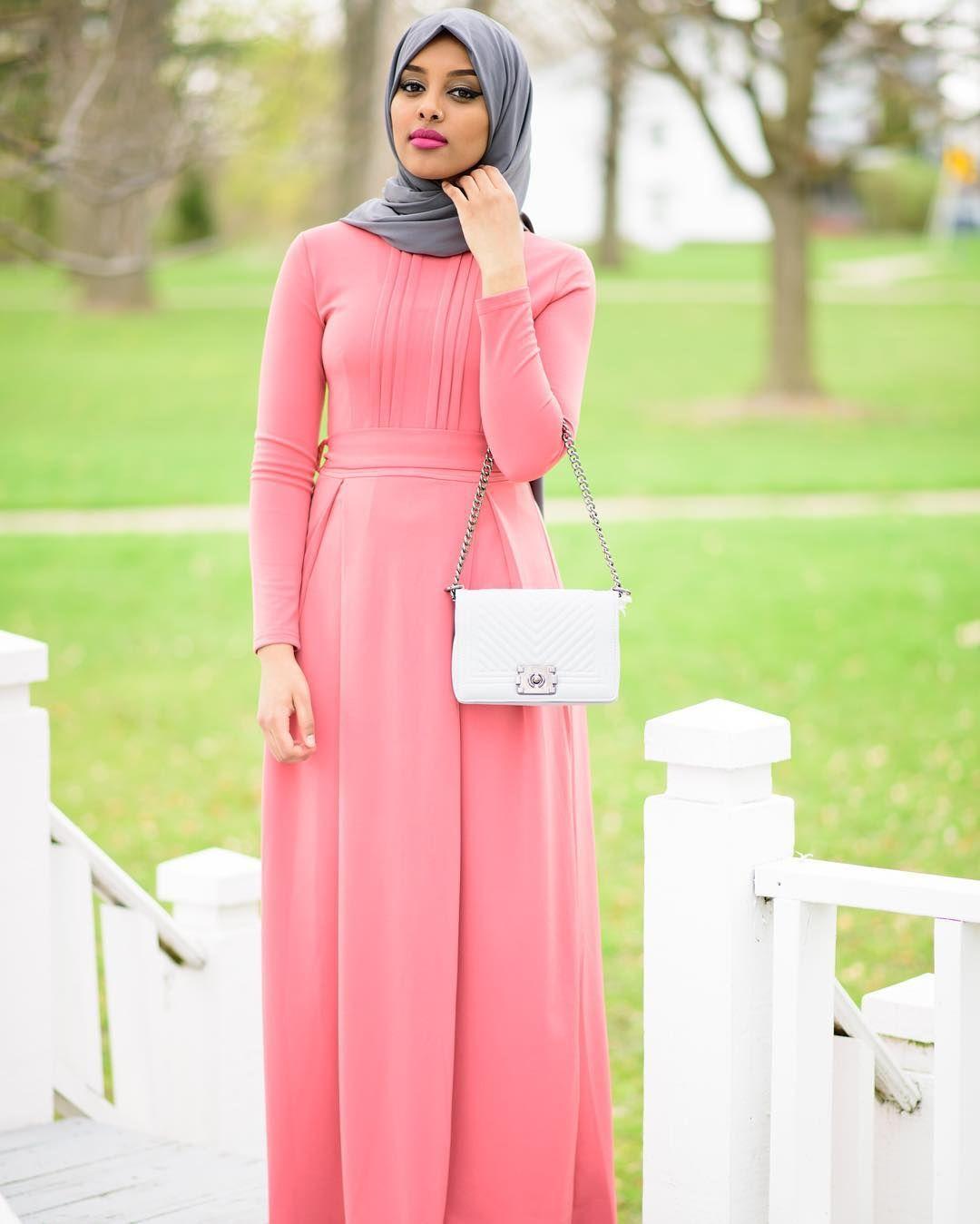Salmon Elite Maxi Dress | Modest Maxi Dresses | Pinterest
