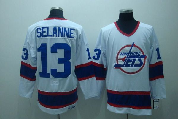 new product c607b f0fcf NHL Jerseys,Winnipeg Jets Jersey,Jets #13 Teemu Selanne ...
