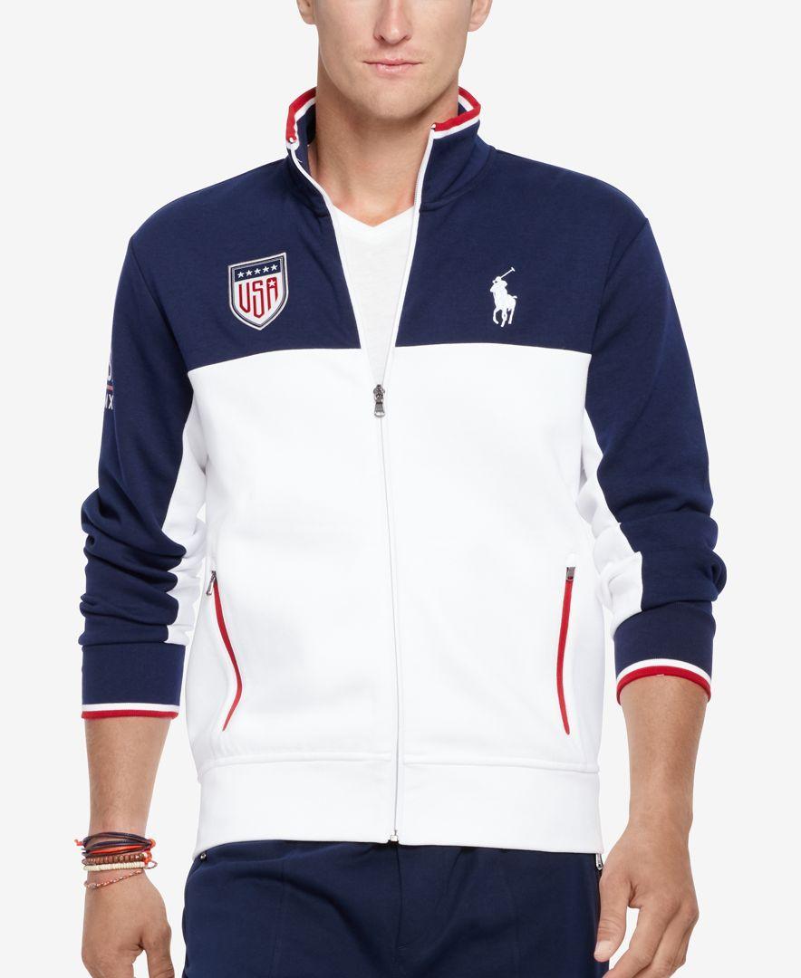 Polo Ralph Lauren DoubleKnit Track Jacket Jackets men