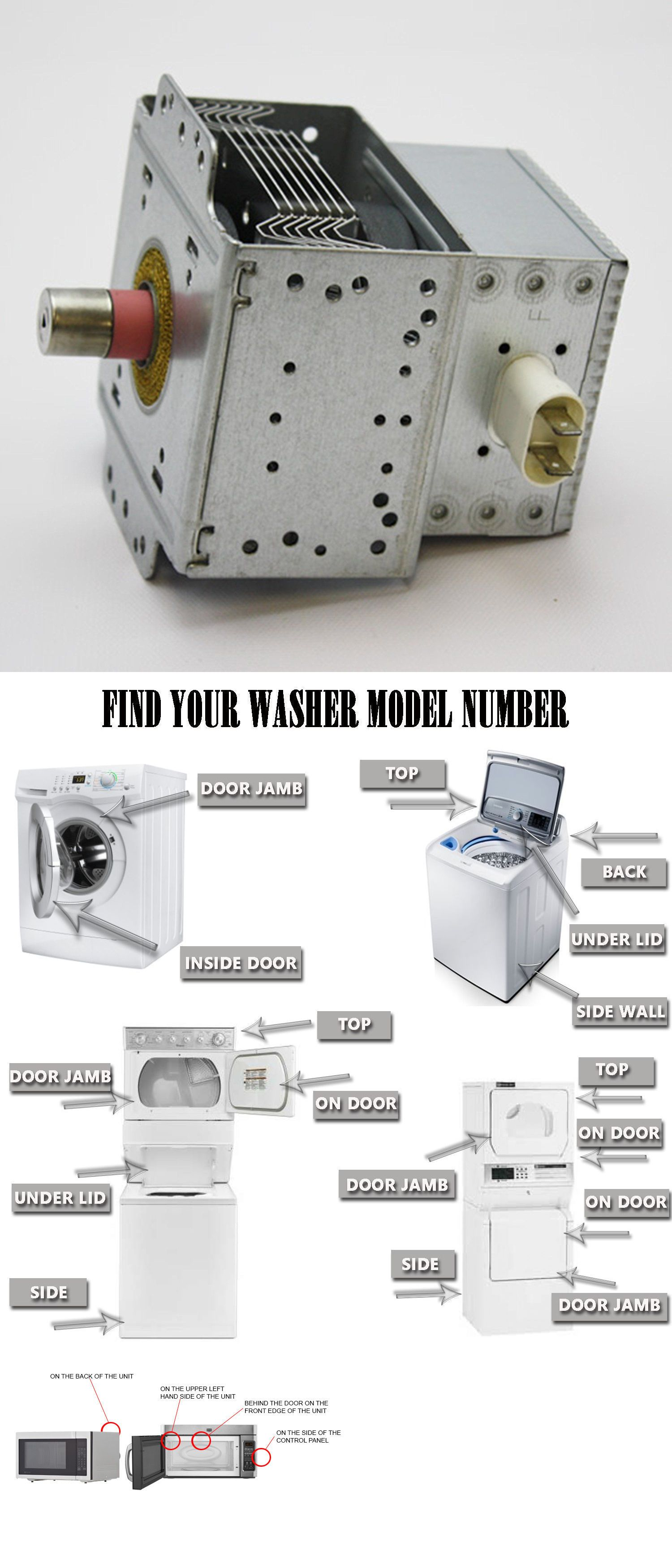 microwave parts microwave oven