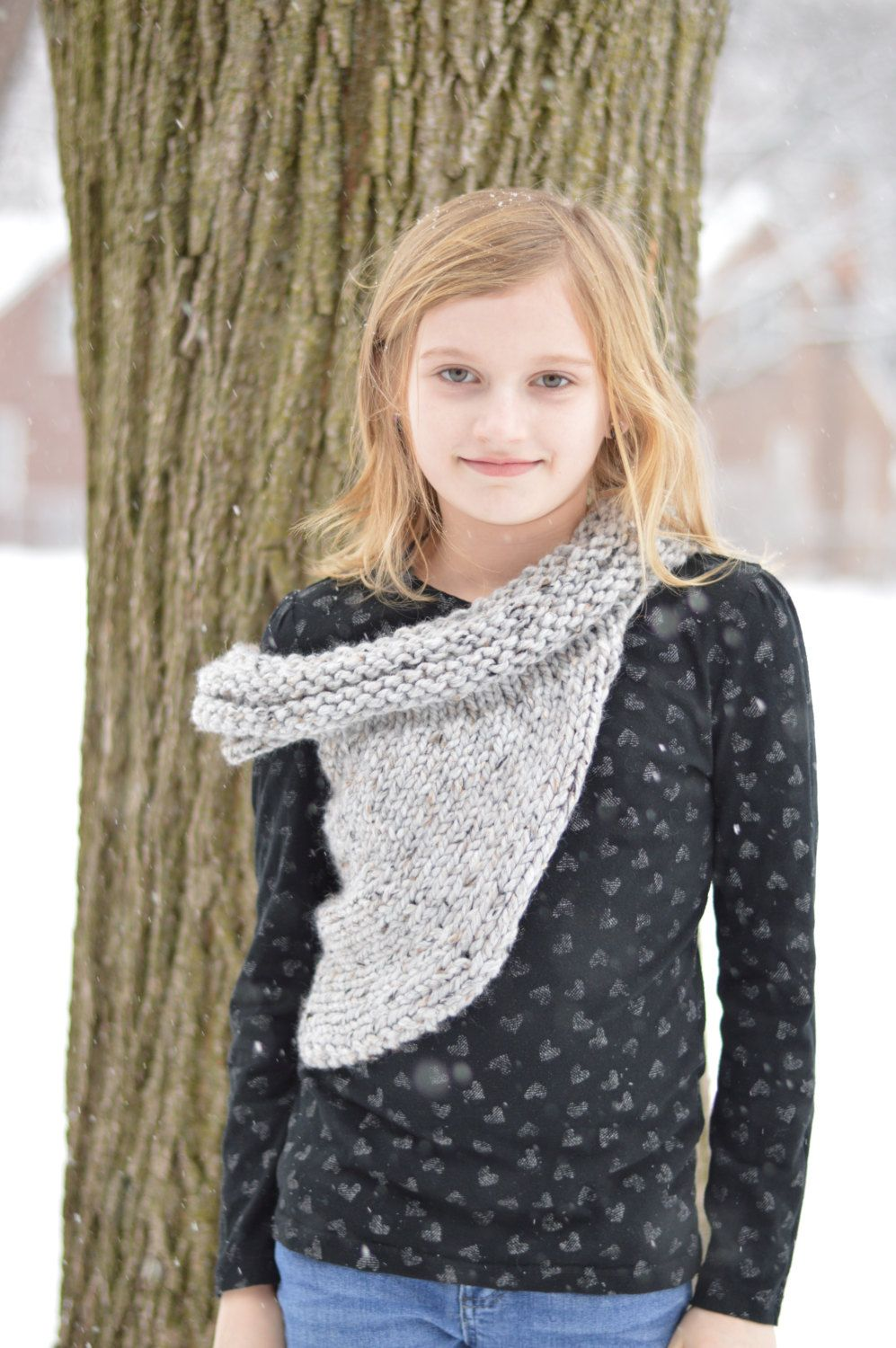 Pattern- Katniss inspired cowl: toddler, kid and adult. by ...