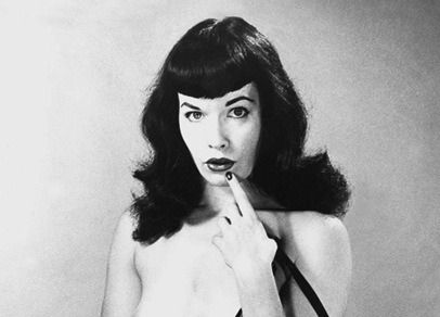Bettie Page Bangs Betty Page On Tumblr
