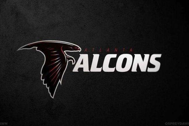Redesigned Logos For Every Nfl Team Atlanta Falcons Fans Nfl Logo Atlanta Falcons Wallpaper