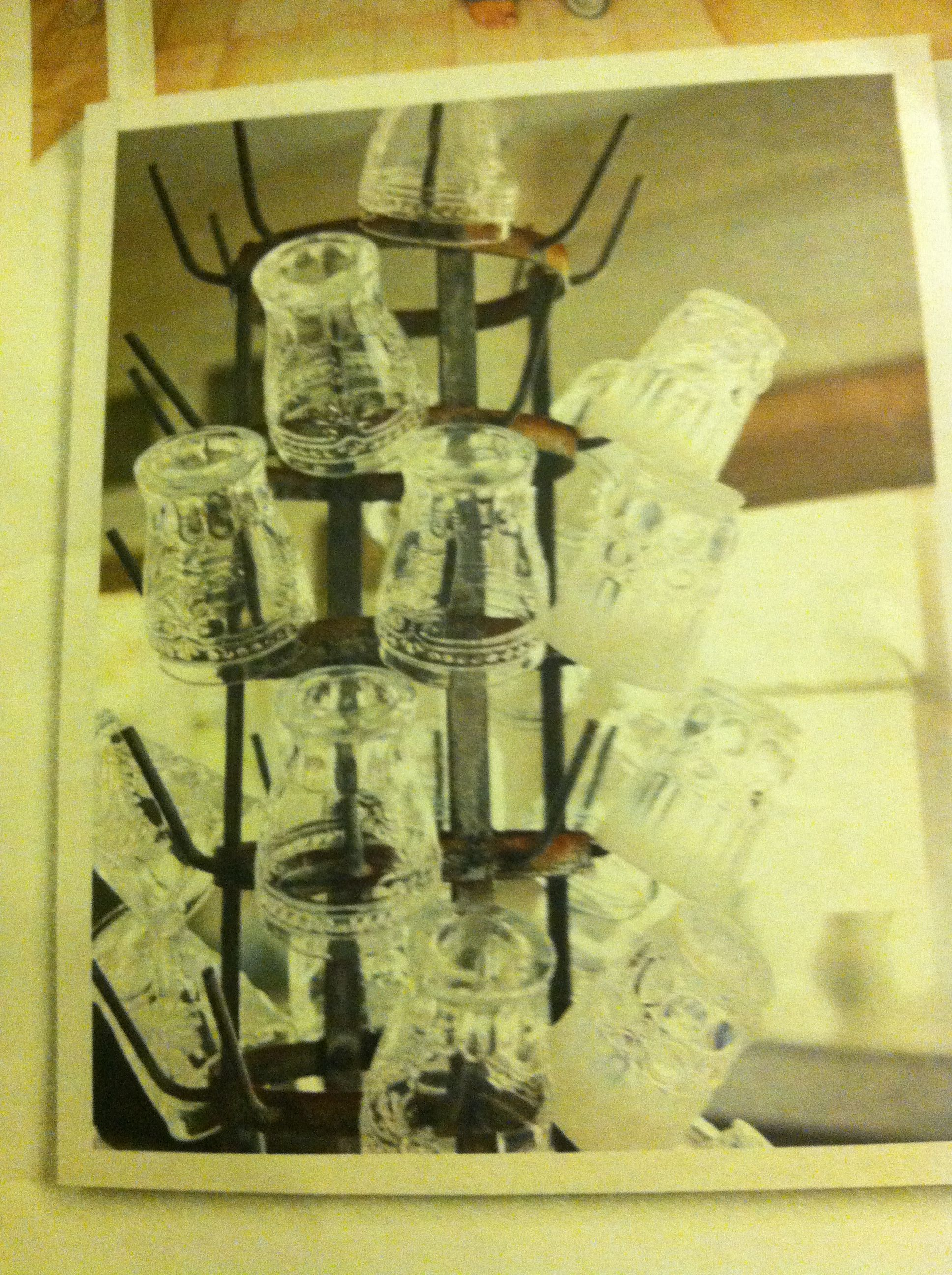 10x10 Grow Room Design: Bottle-drying Rack With Glasses From Anthro. (With Images
