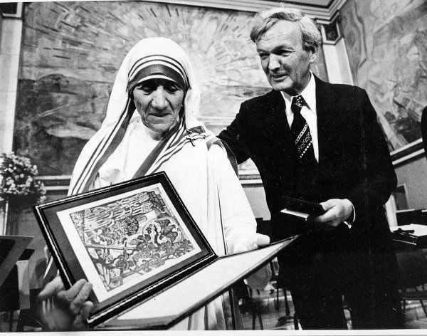 She Won The 1979 Nobel Peace Prize For Dedicating Her Life To Sick And Hungry