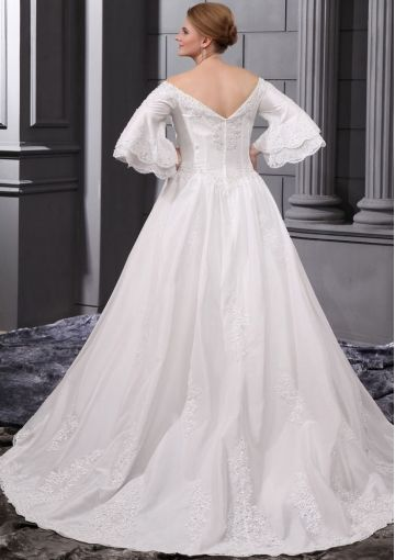 Plus Size Wedding Dresses with Sleeves   Plus Size Wedding Dresses ...