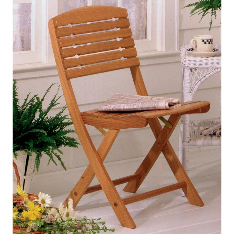 Folding Chair Woodworking Plan From WOOD Magazine