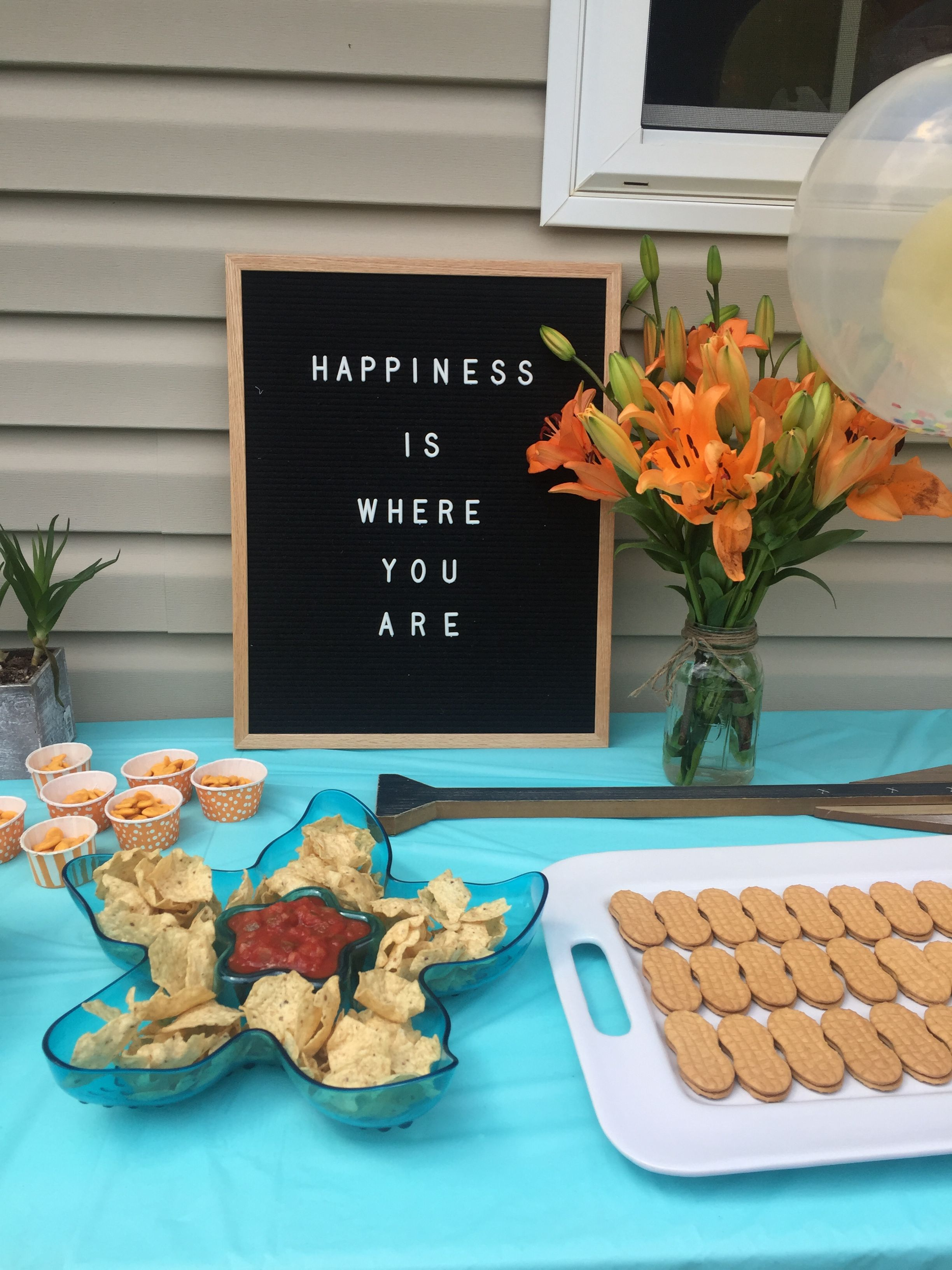 Simple Food Ideas For Moana Birthday Party Moanaparty Letterboardquotes