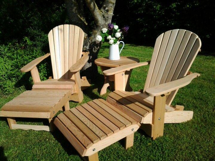 Fauteuils adirondack - l esprit canadien au jardin | PALLETS ...