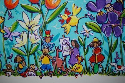 Murals - Anna Bartlett - Shiny Happy Artist Toowoomba Queensland Australia