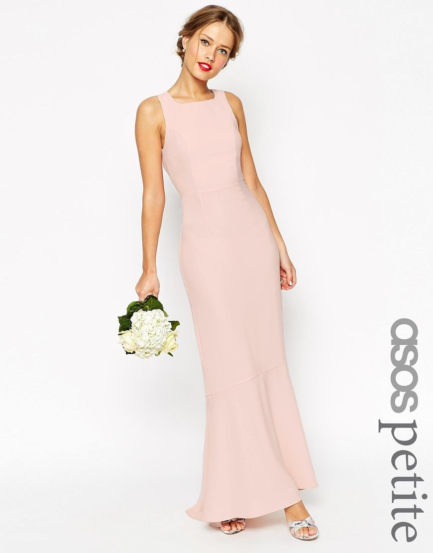Awesome Image of ASOS PETITE WEDDING Maxi Dress With Fishtail