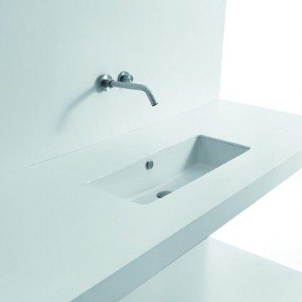 Designer Modern High End Luxurious Rectangular Undermount Bathroom