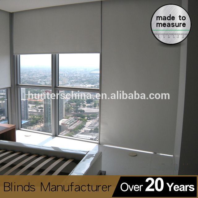 Newhome Ideas Interior: Source Automatic Wireless Block Out Curtain Roller
