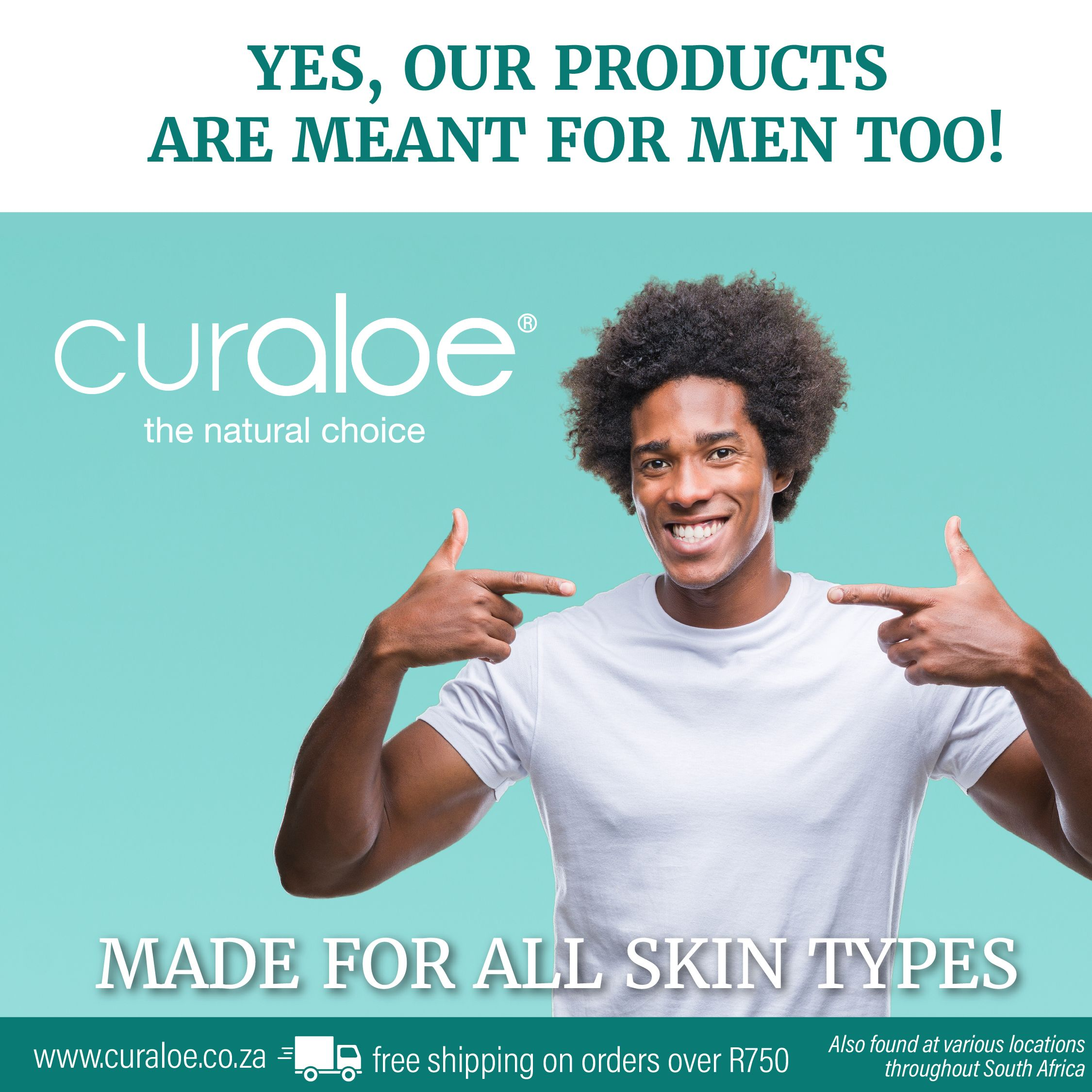 Our Products Are Meant For Men Too Skin Types Skin Care Aloe Vera