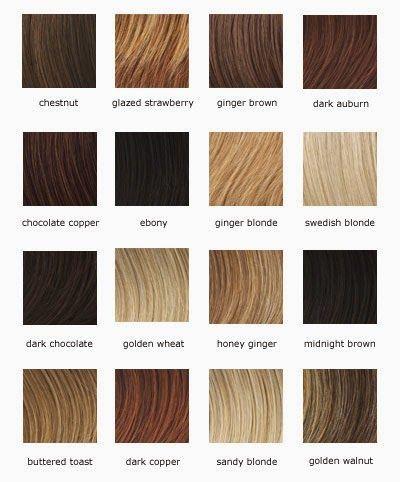 verschillende haarkleuren