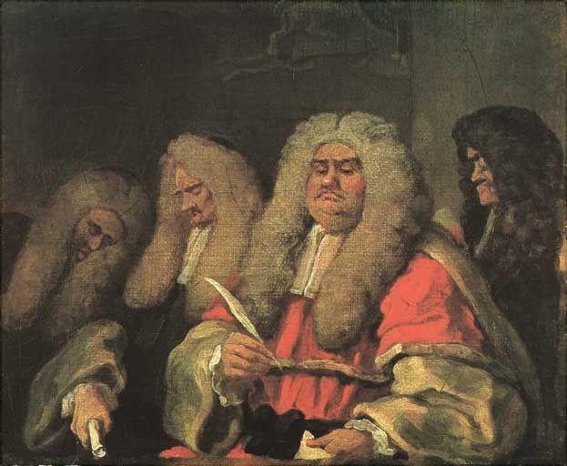 Le Magistrat En Reve Le Sens Les Arts William Hogarth Peinture