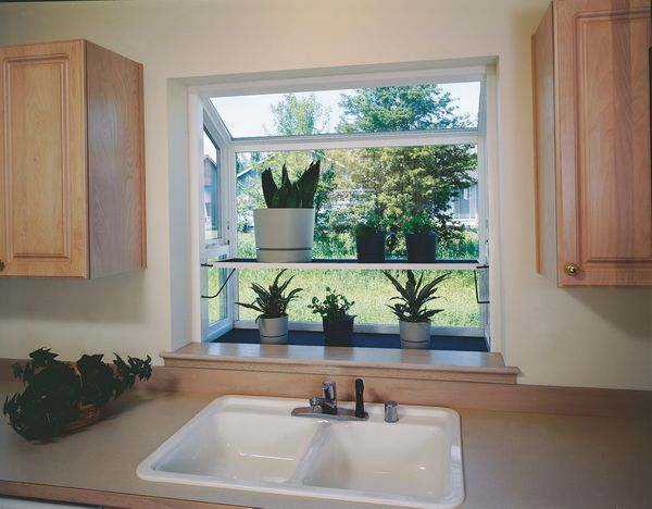 Garden Window in White #window