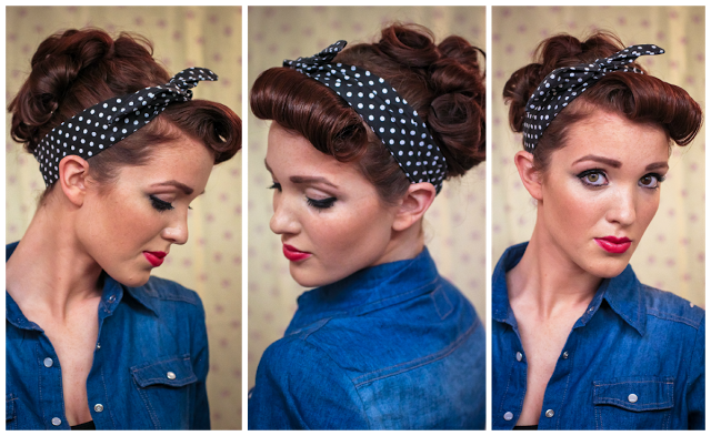 hair styles in the 50s the freckled fox sweetheart hair week tutorial 3 3923