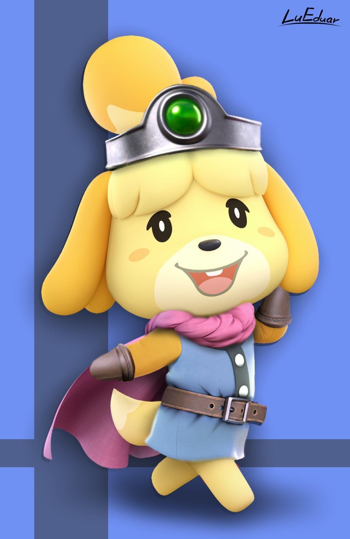 Isabelle As Hero Dragon Quest Iii By Lueduar Isabelle Dragon Quest Hero Dragon Quest Dragon Quest Hero