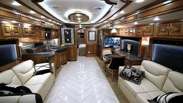 Inside Of An Rv Mobile Office Beautiful Luxury Rv House