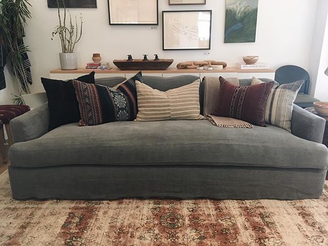 Leather Sectional Sofa Ladies Gentlemen meet the Gwynnie Sofa made to order here in Los