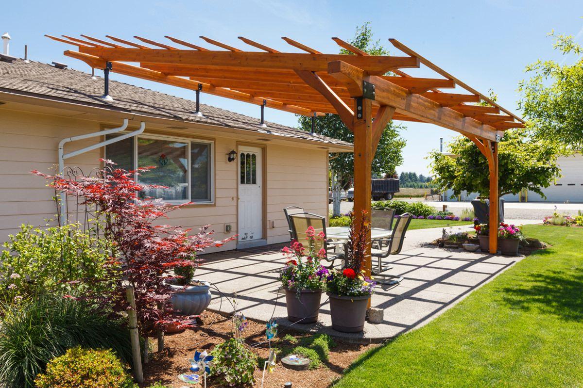 Elevate Your Patio Cover With Skylift Roof Riser Hardware Outdoor Pergola Pergola Patio Pergola Shade Diy