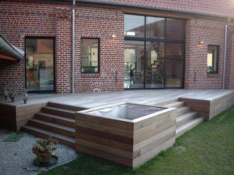 Photo of Verbundholzterrassen – Exotische Holzterrassenkonstruktion – Haus Garten Des…,  #des #Exoti…