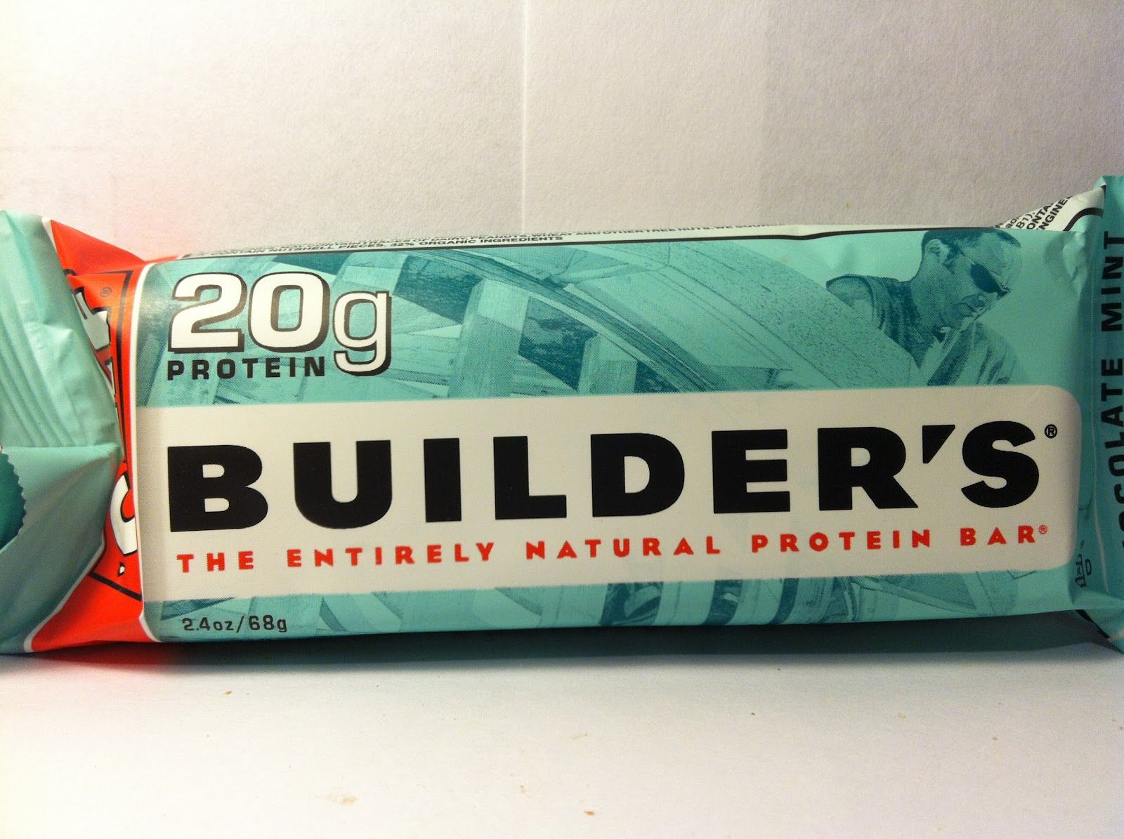 Crazy Food Dude Review Clif Builder S Chocolate Mint Protein Bar Mint Chocolate Protein Bars Natural Protein Bars