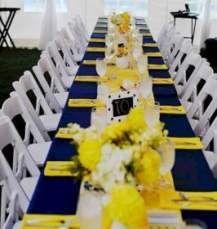64 Ideas For Yellow Blue Wedding Flowers #wedding