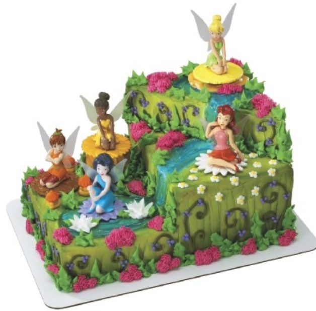 Tinkerbell Cakefor My Daughters Next Birthday Party