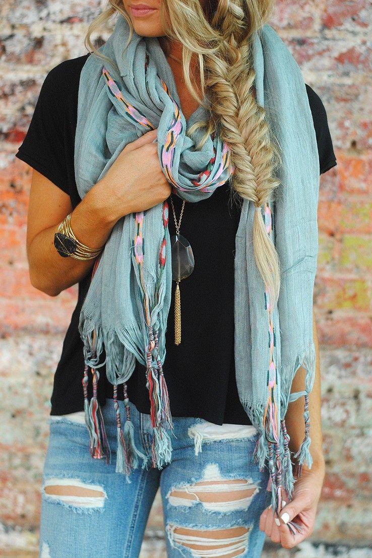 Love this scarf from vestique bufandas y pañuelos pinterest