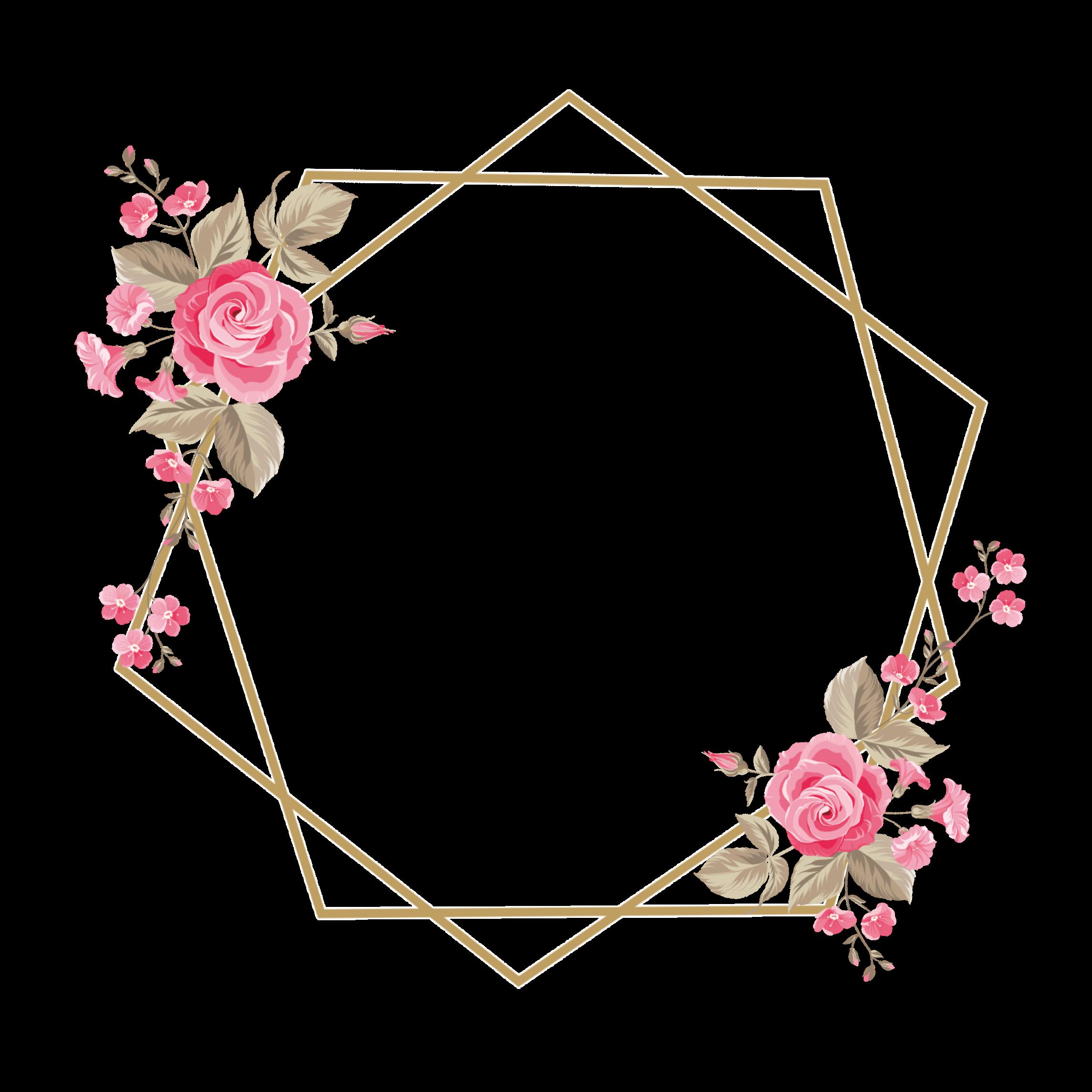 Sticker By Azhaaralzadjalia Freetoedit Frame Rose Flower Pink اطار ورد وردي Remixed From San Dra Br Mashael Kartu Pernikahan Kartu Bunga Ide Wisuda