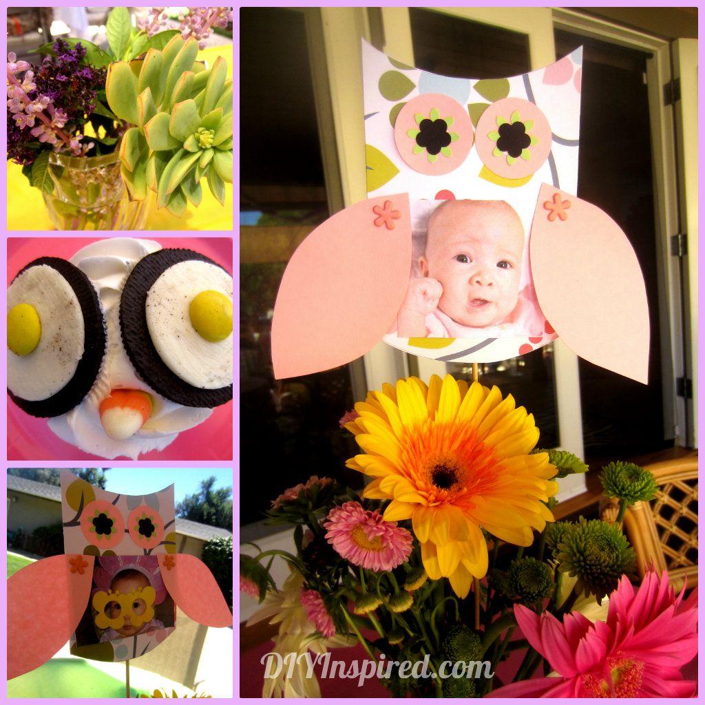 Owl Themed First Birthday Owl Owl Birthday Parties And Birthday
