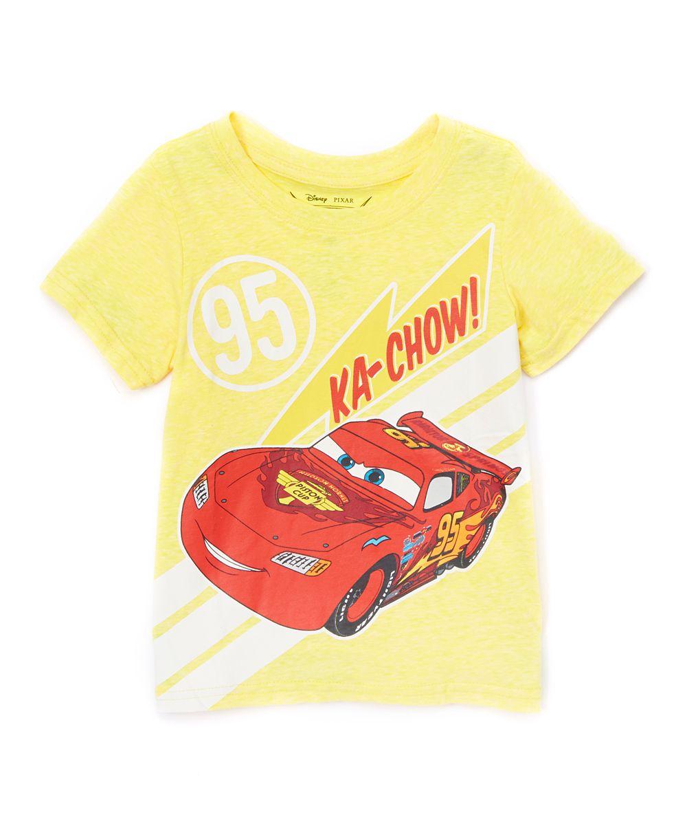 Cars Lightning Mcqueen 'Ka-Chow' Tee - Toddler