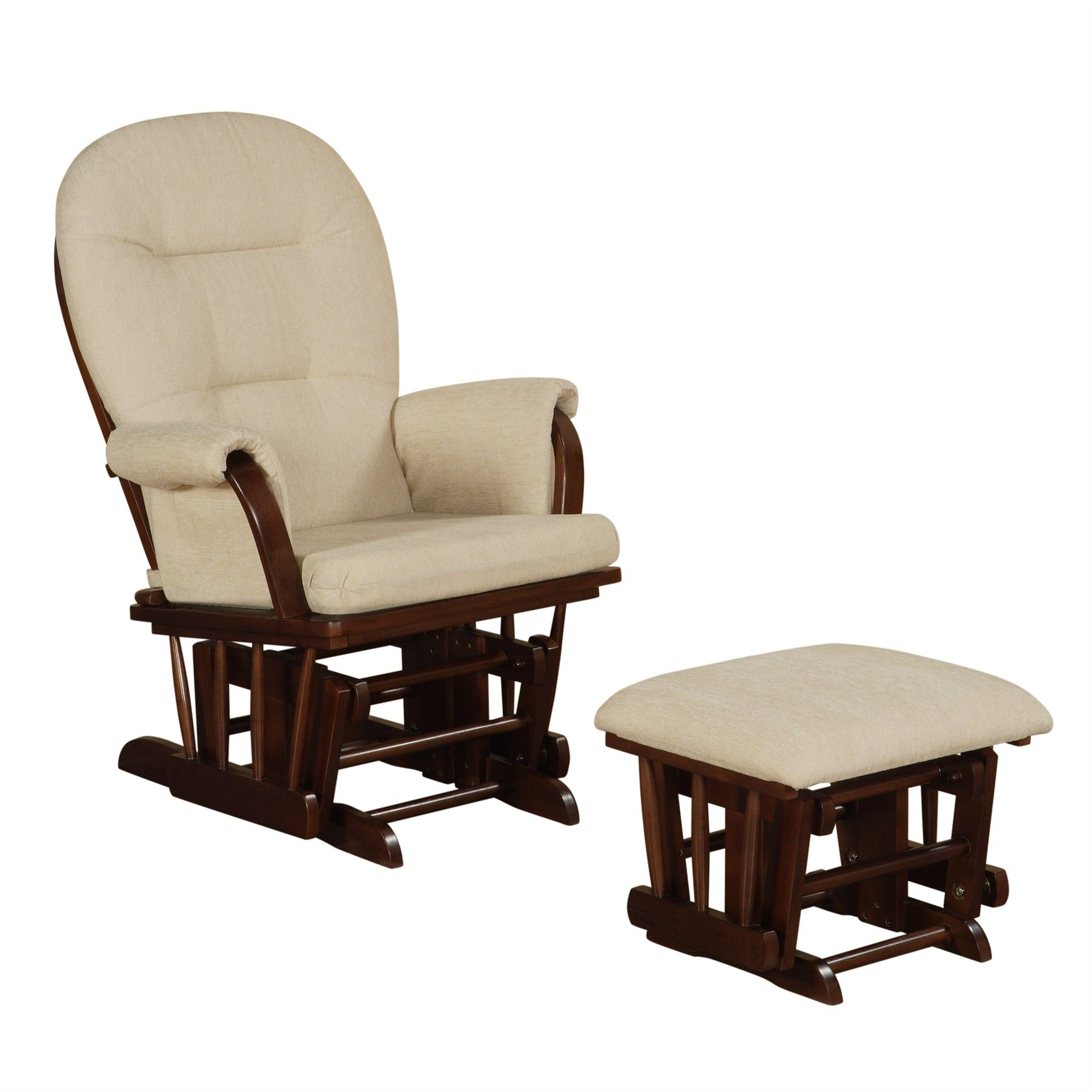 Cool Nursery Rocking Chair With Ottoman Chairs Rocking Chair Gmtry Best Dining Table And Chair Ideas Images Gmtryco