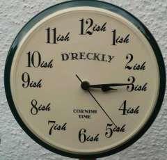 Image result for dreckly clock
