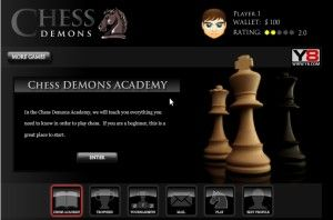 Chess Demons Free Flash Boards Games online