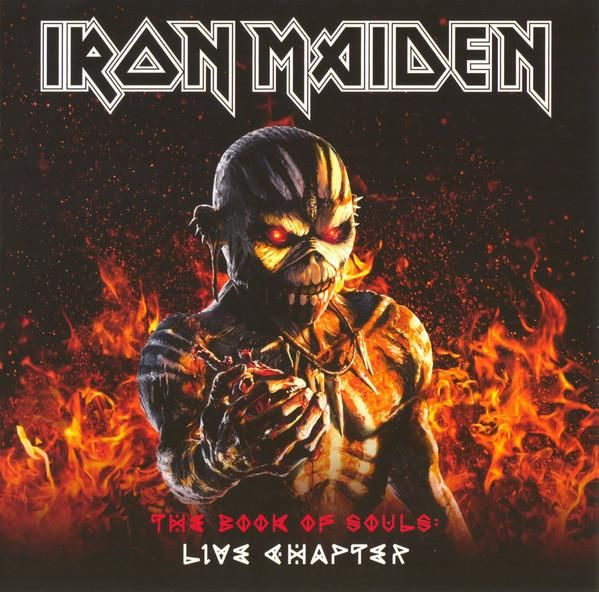 Iron Maiden The Book Of Souls Live Chapter 2 x CD SET
