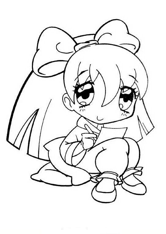 Manga Ausmalbilder. Malvorlagen Zeichnung druckbare nº 13 ...