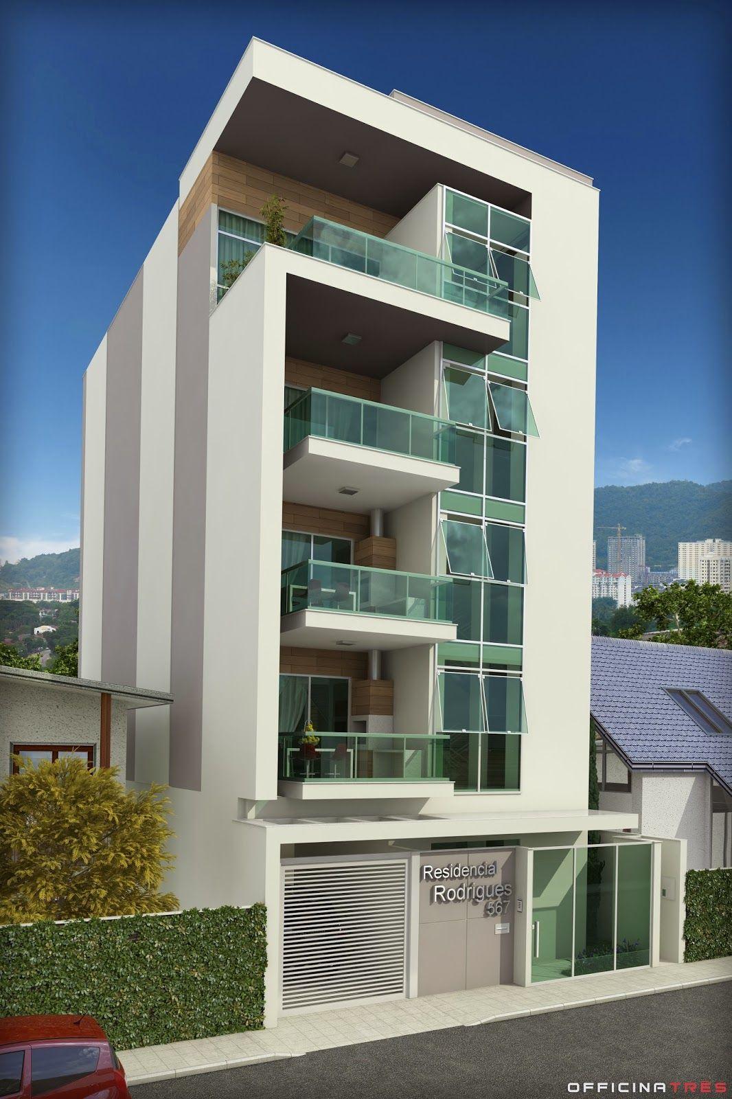 Officinatr s pr dio residencial em manhua u mg fachadas for Edificios modernos minimalistas