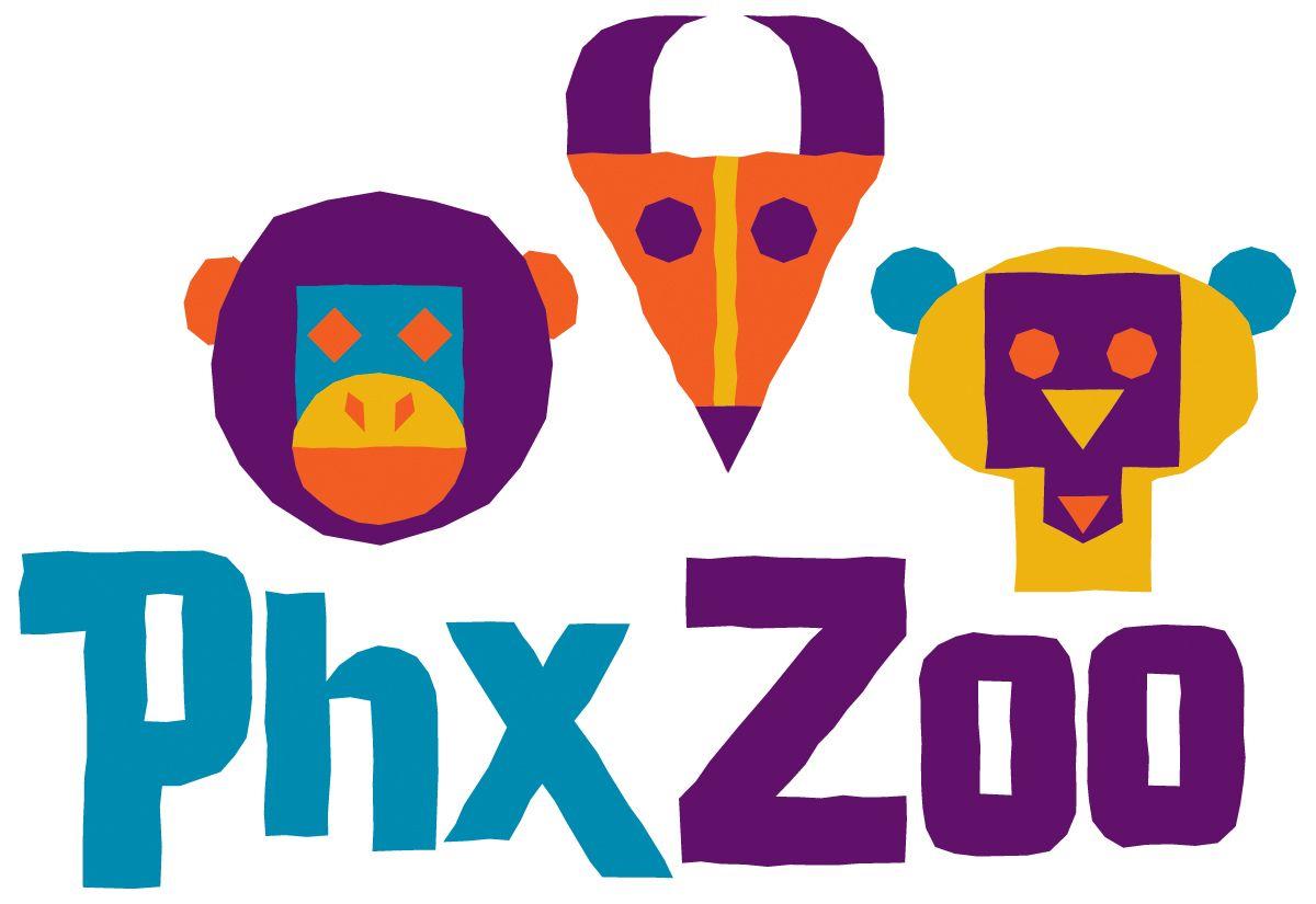 Phoenix Zoo Logo Graphic Design Pinterest Zoo Logo Phoenix