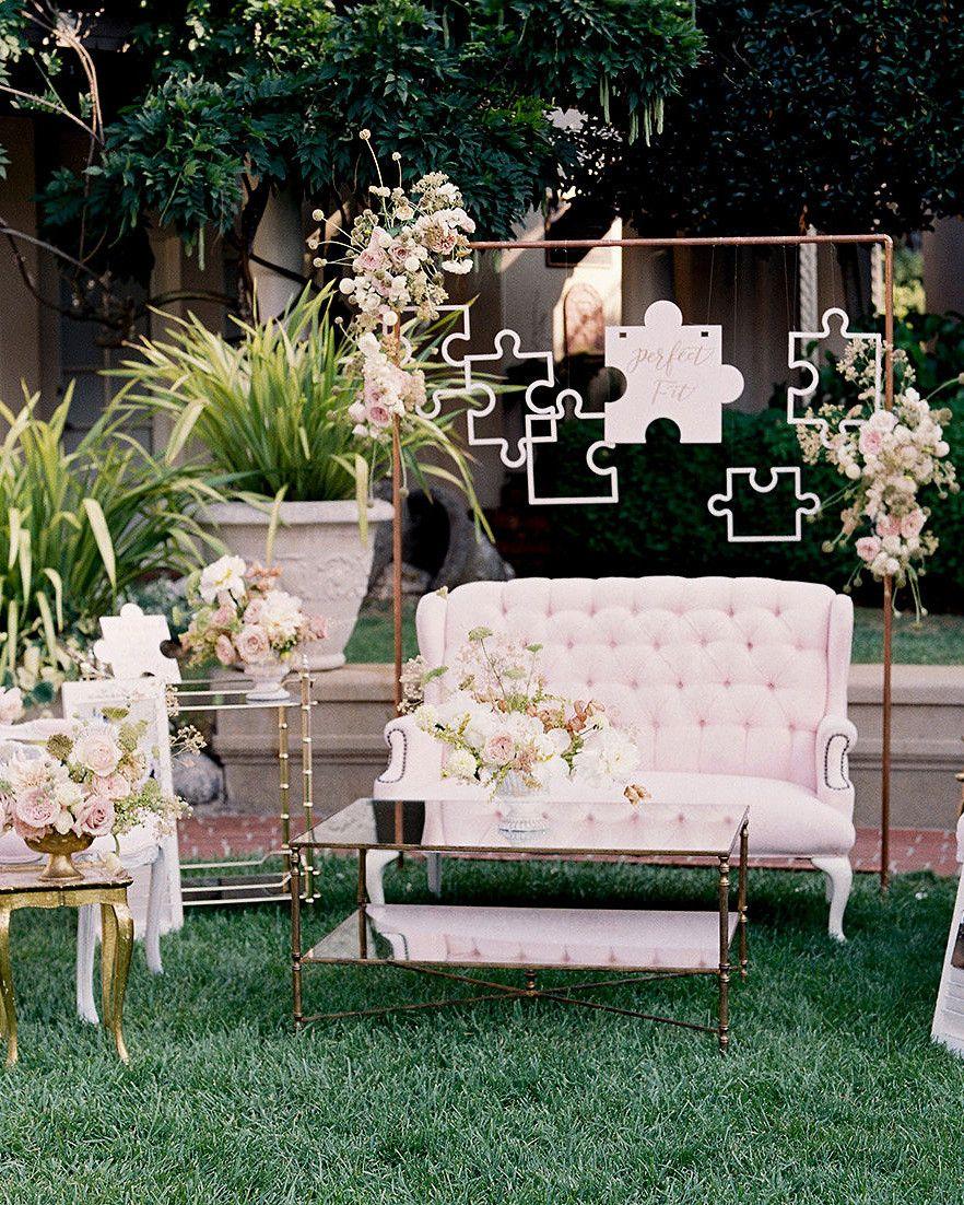 A Regal, Romantic Summer Wedding at a California Mansion ...
