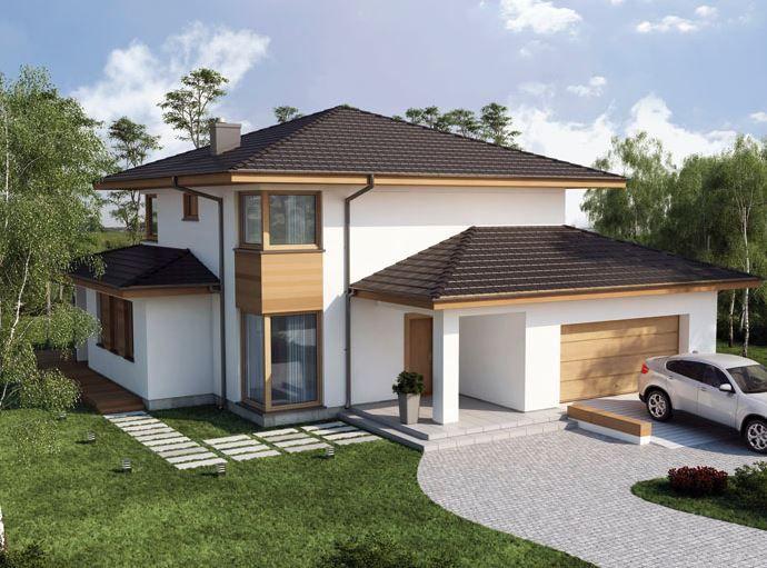 madera modelos de casas de lujo