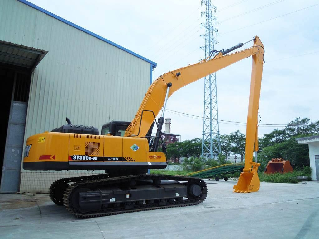 20m long reach boom arm for SANY 305 | Long Reach Excavator | Tonka