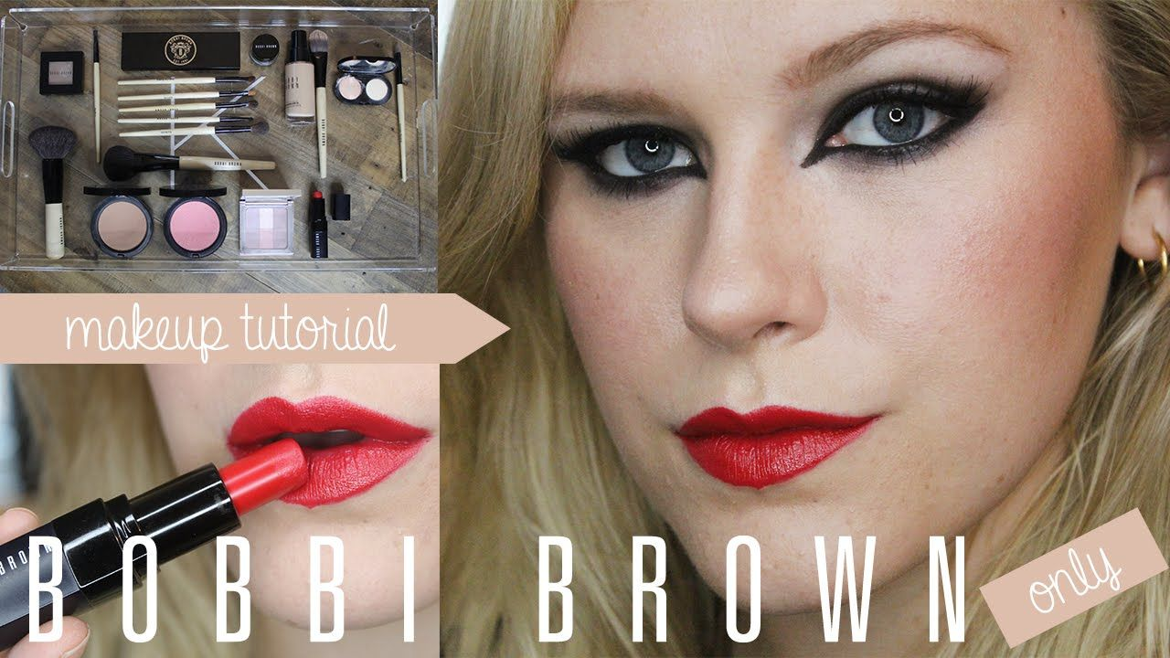 Bold Eyes and Lip All Bobbi Brown Products Makeup