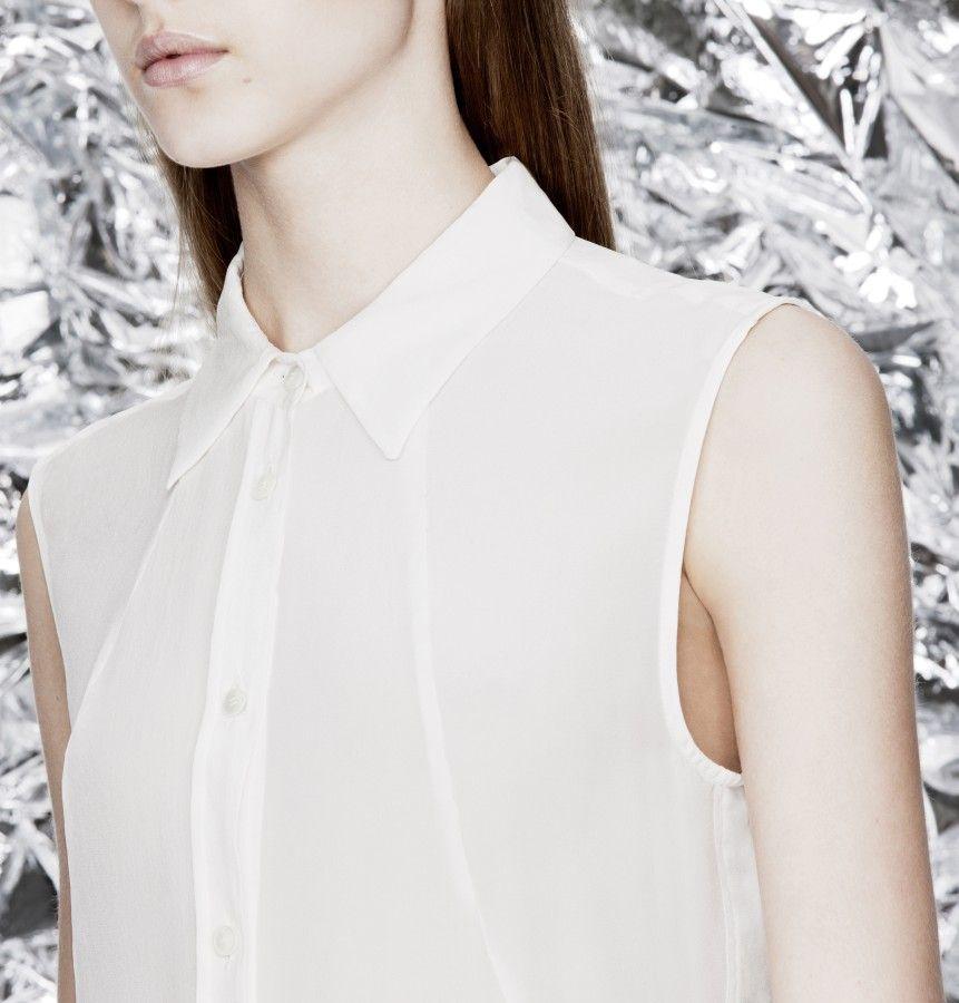 Leigh Silk Gardenia White