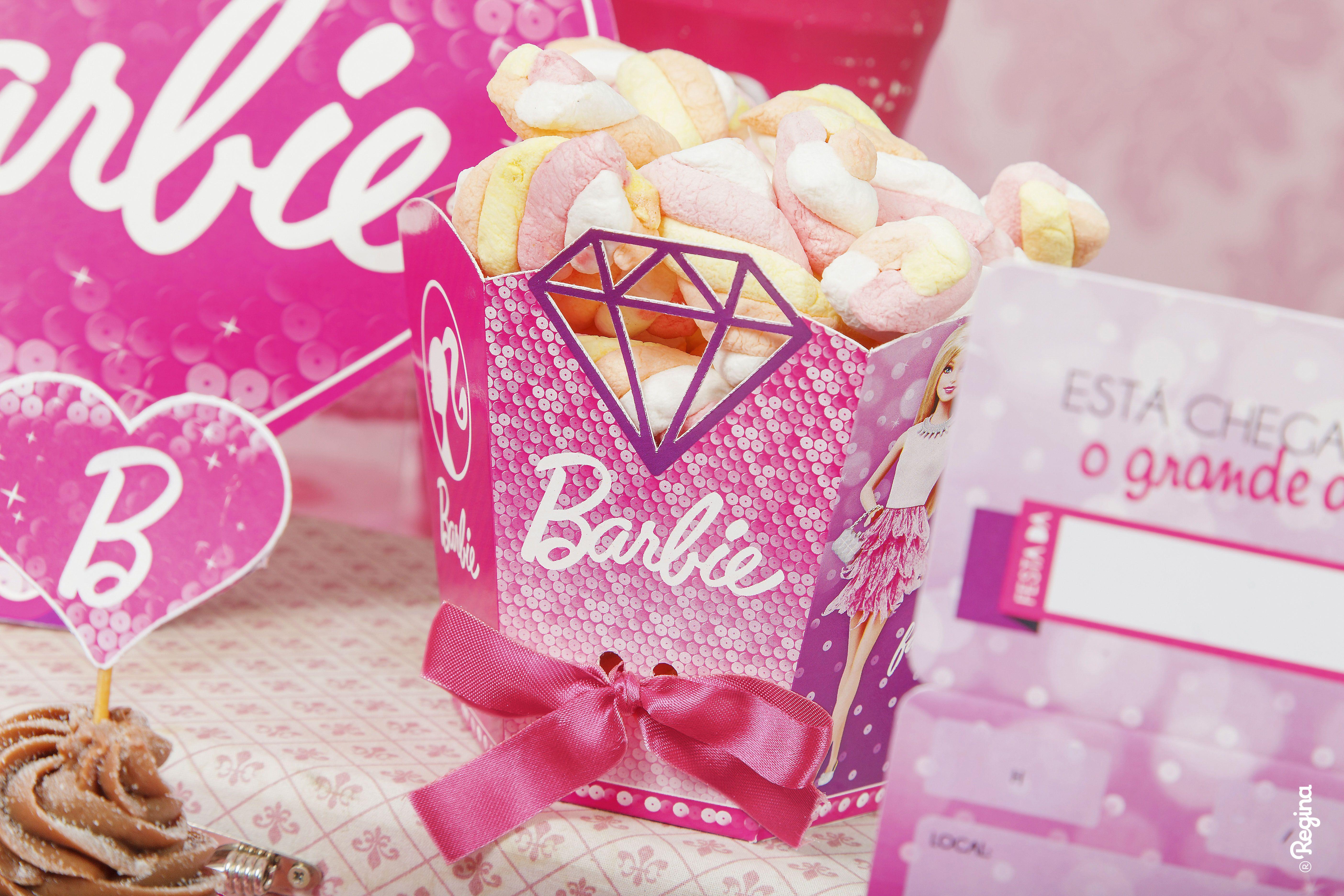 Pin by Regina Festas on Festa Barbie Diamante - Regina Festas ...