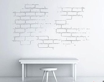 Exceptional Bricks Wall Decal