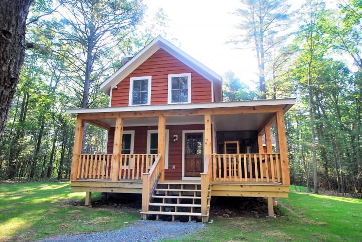 Tiny Home Designs: #Cottage 25 By #CatskillFarms: 850 Sq Ft Of Living Large