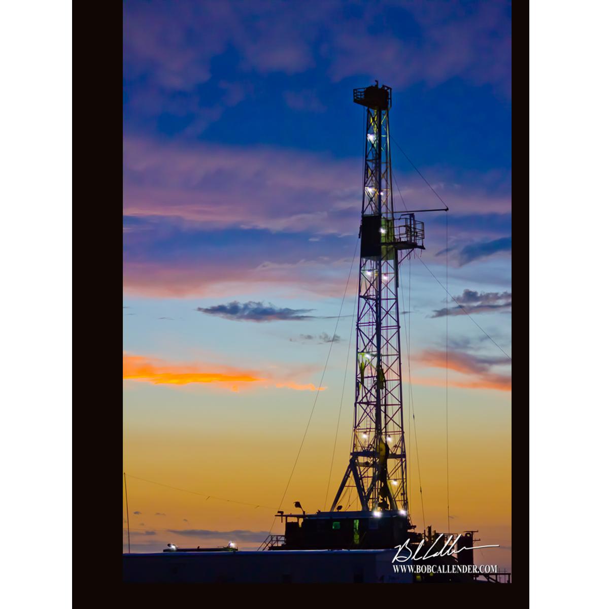 Big Skies By Bob Callender Bob Callender Fine Art Big Sky Oilfield Beach Sunset Wallpaper